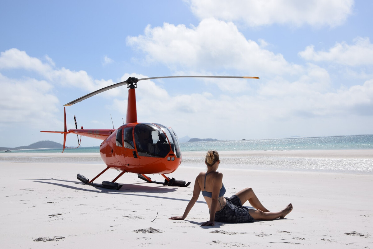GSL Aviation Whitehaven Beach by Helicopter