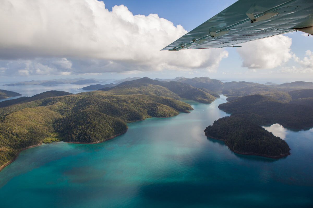 GSL Aviation Reef & Island scenic flight